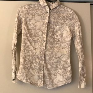 Design thin long sleeve blouse